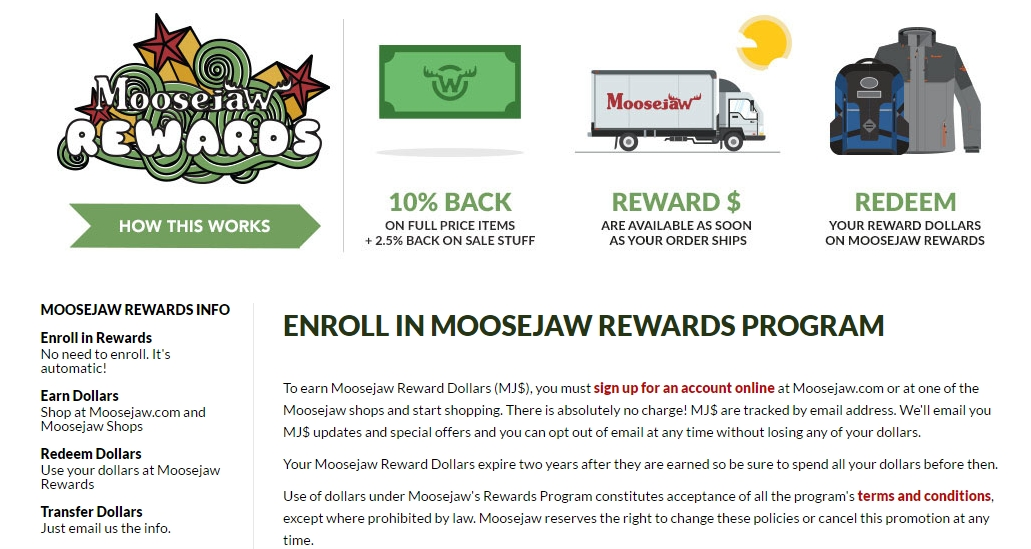 Moose jaw coupon code
