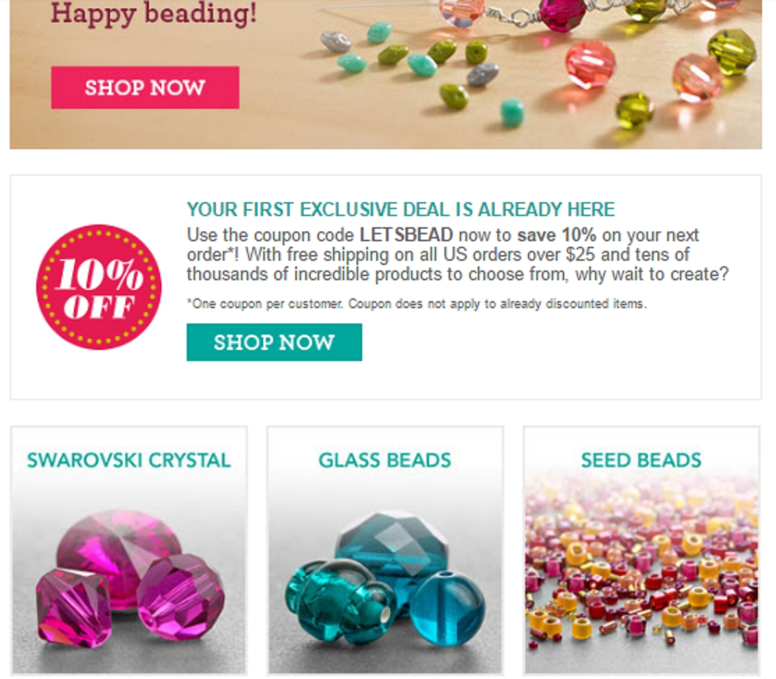 Bead sensation coupon code