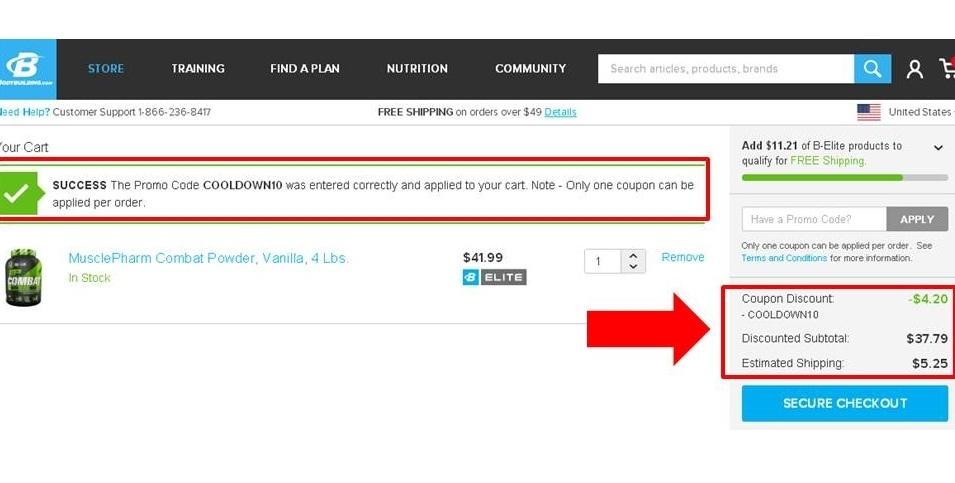Bodybuilding.com 20 coupon code