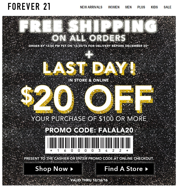 graphic about Forever 21 Printable Coupons titled For good 21 coupon 10 : Ninja cafe nyc discount codes