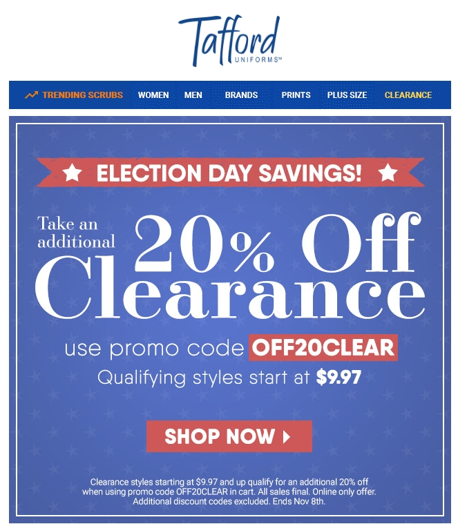 Tafford coupon code