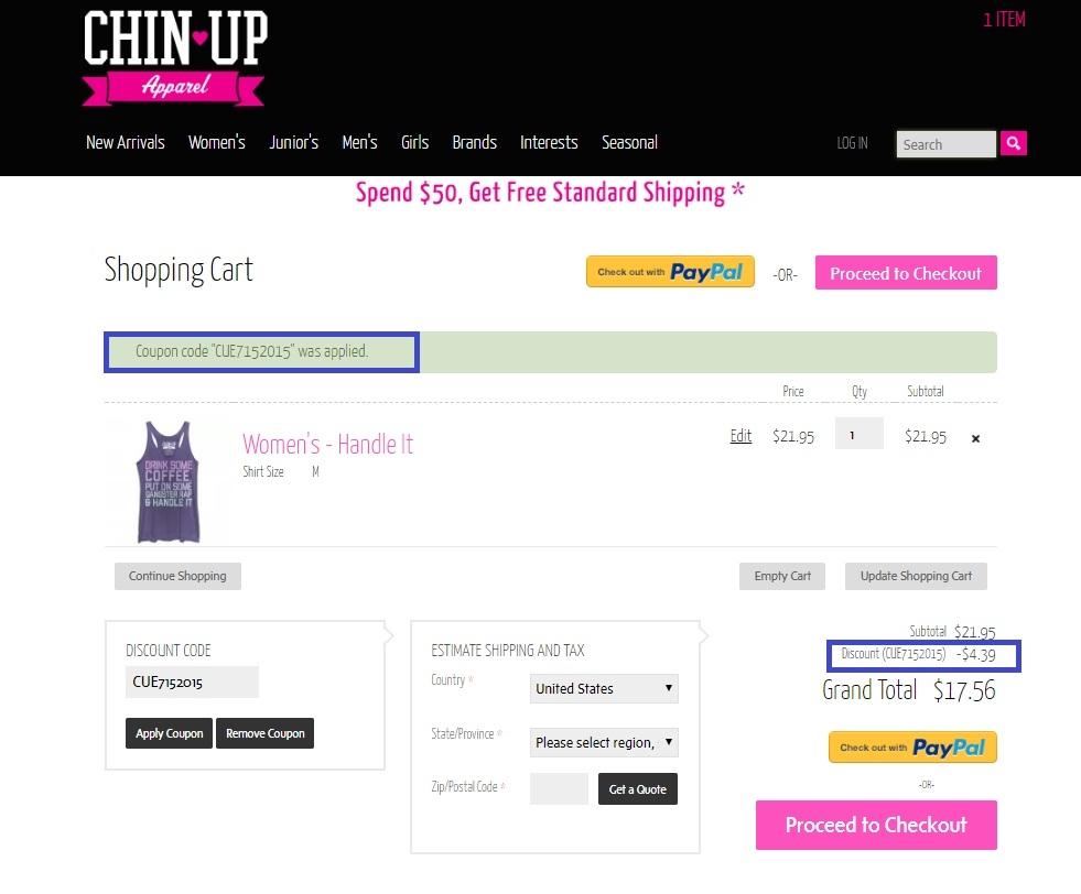 Ups coupon code