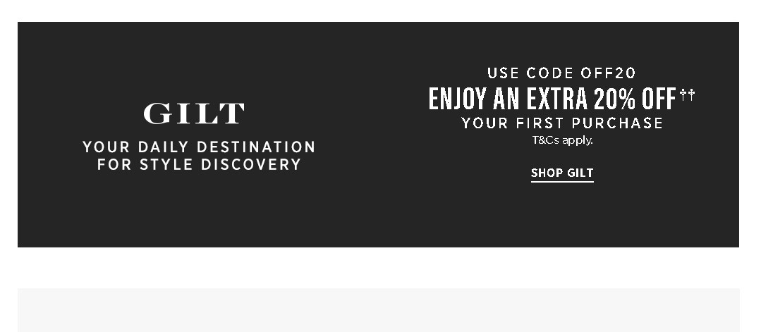 Find 'Have a Promo Code? Apply it now' to enter your coupon code into the Promo Code field. Click 'Apply.' Click 'Submit your Order' to complete the transaction. Gilt Outlet. With mixedforms.ml, there is no need for an outlet or clearance section, as the entire site is comprised of deeply discounted items.