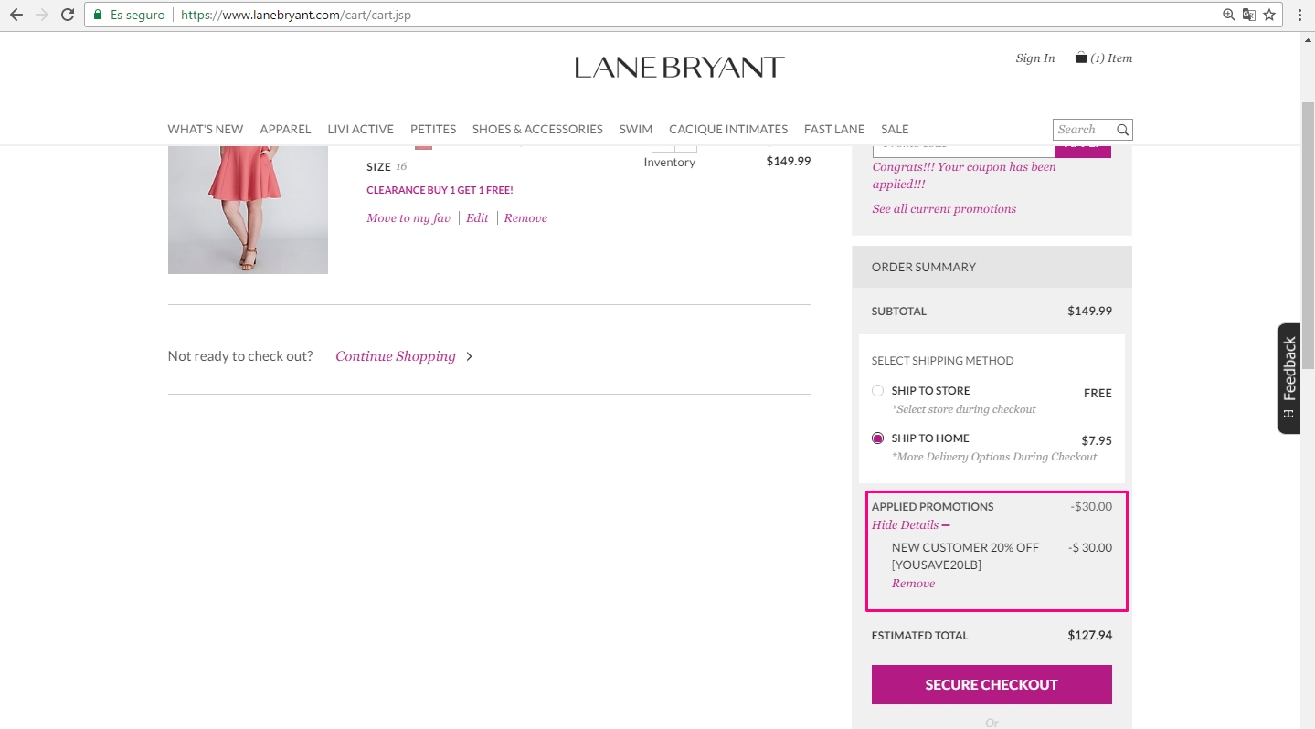 Lane Bryant leads the plus-size fashion field in style and price with Lane Bryant promo codes and discounts. Women searching for trendy and stylish clothing in sizes 14 and up choose to shop at one of Lane Bryant's U.S. retail stores, or online at green-host-demo.ga
