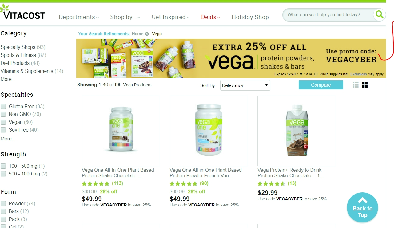 Vitacost coupons discounts