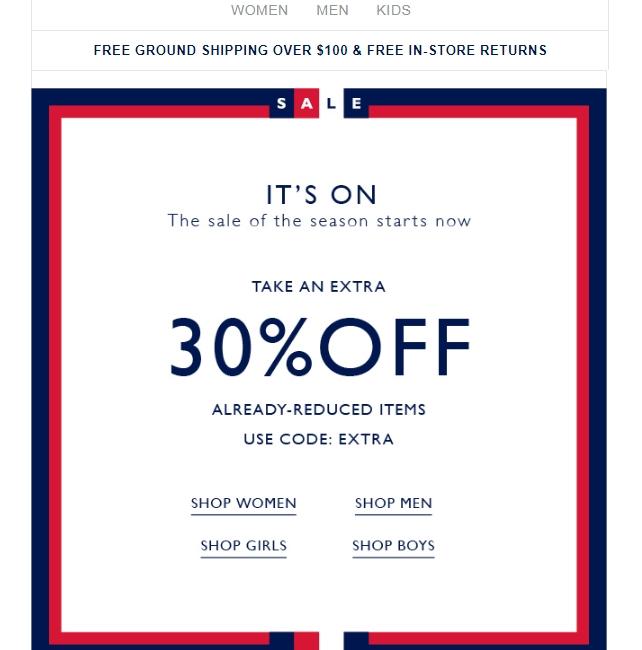 30 off tommy hilfiger coupon code 2017 promo code dealspotr. Black Bedroom Furniture Sets. Home Design Ideas
