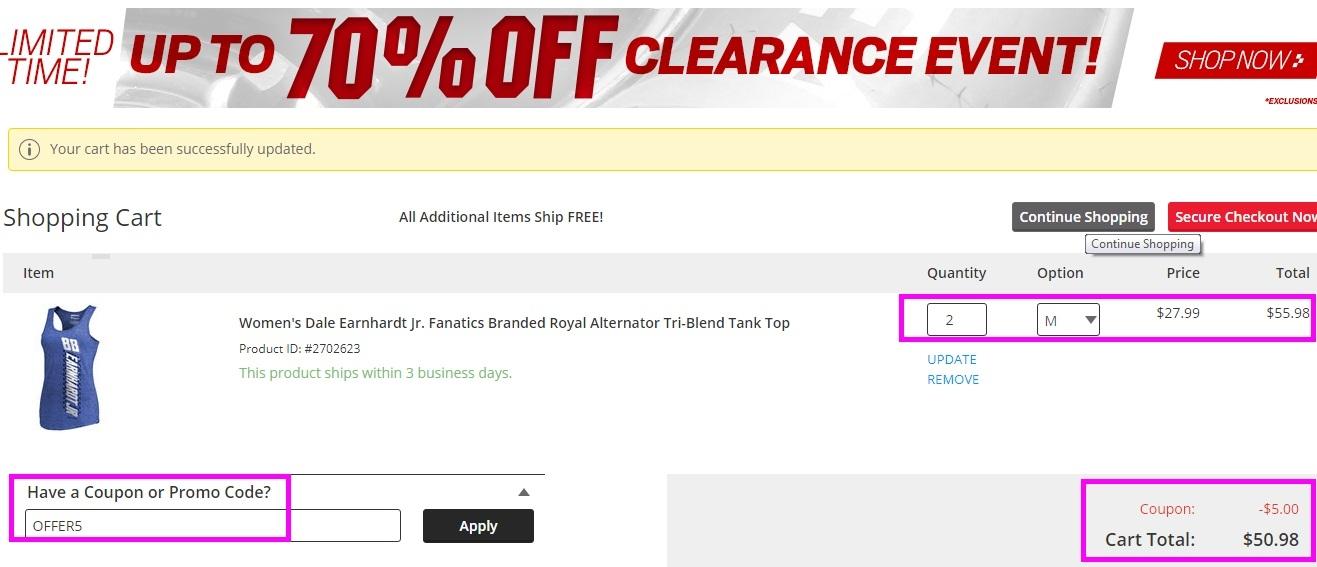 Nascar speedpark discount coupons