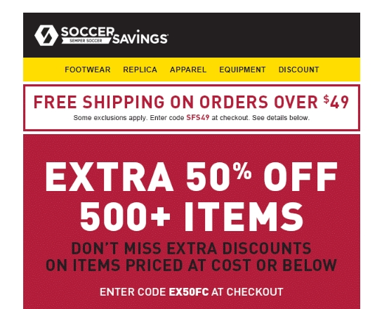 Everyone from kids just starting out playing soccer, to professional players, will love the selection of gear at Pro-Direct Soccer. From apparel and accessories including boots and shin gears, to balls and bags, to coaching equipment, Pro-Direct Soccer carries the best soccer products at the best prices.
