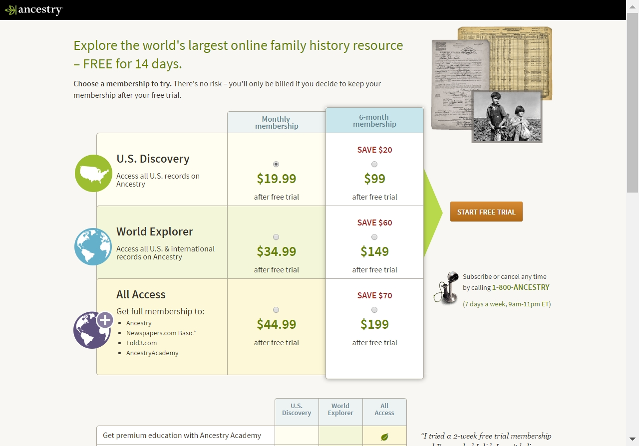 Ancestry has offered a sitewide coupon (good for all transactions) for 30 of the last 30 days. As coupon experts in business since , the best coupon we have .