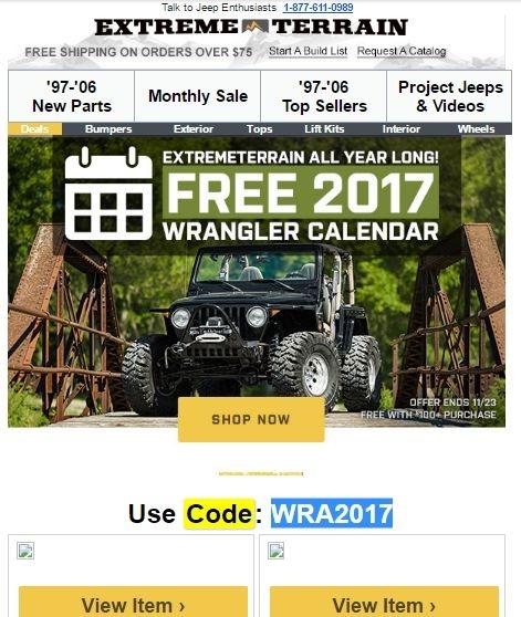 Wrangler coupon code