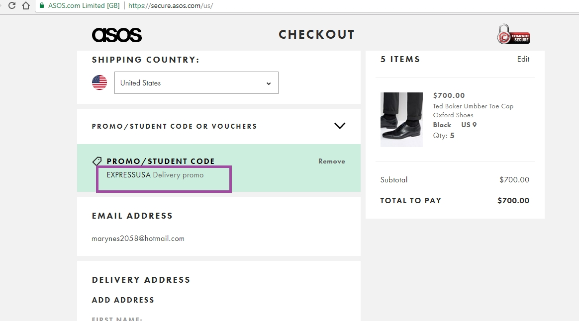 Thus to pay back, we offer you more than just promotion information. We also provide social network page links for ASOS, contact information, sometimes Shipping and Return information and Guide to how to use promo code information for you. Simply enter the ASOS Promo Code before you pay, and keep your wallet safe with your favorite item.
