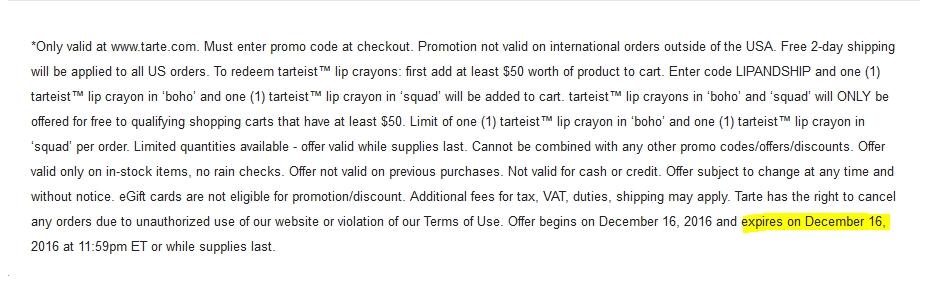 Milani cosmetics coupon discount code