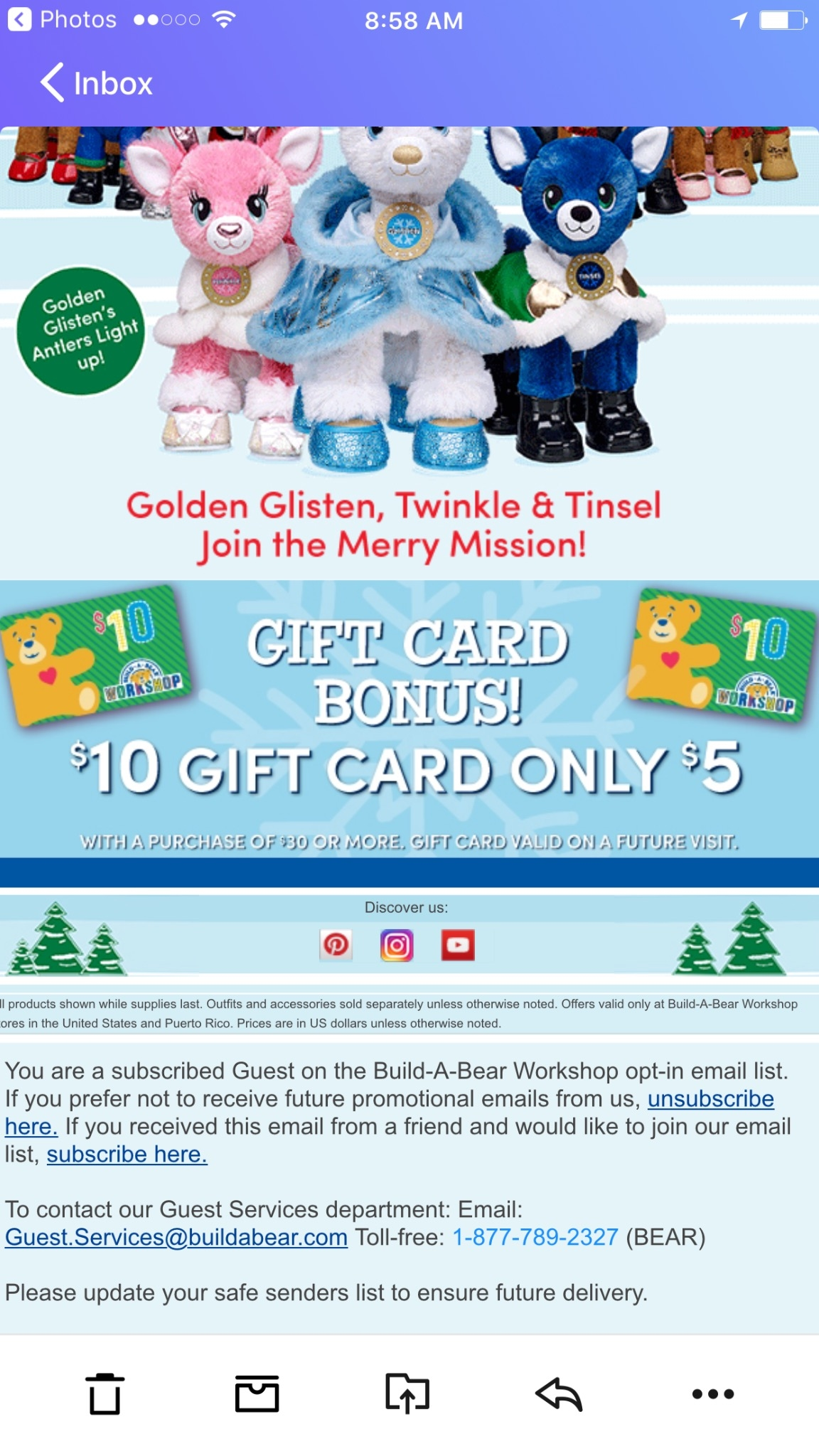 Build a bear discount coupon
