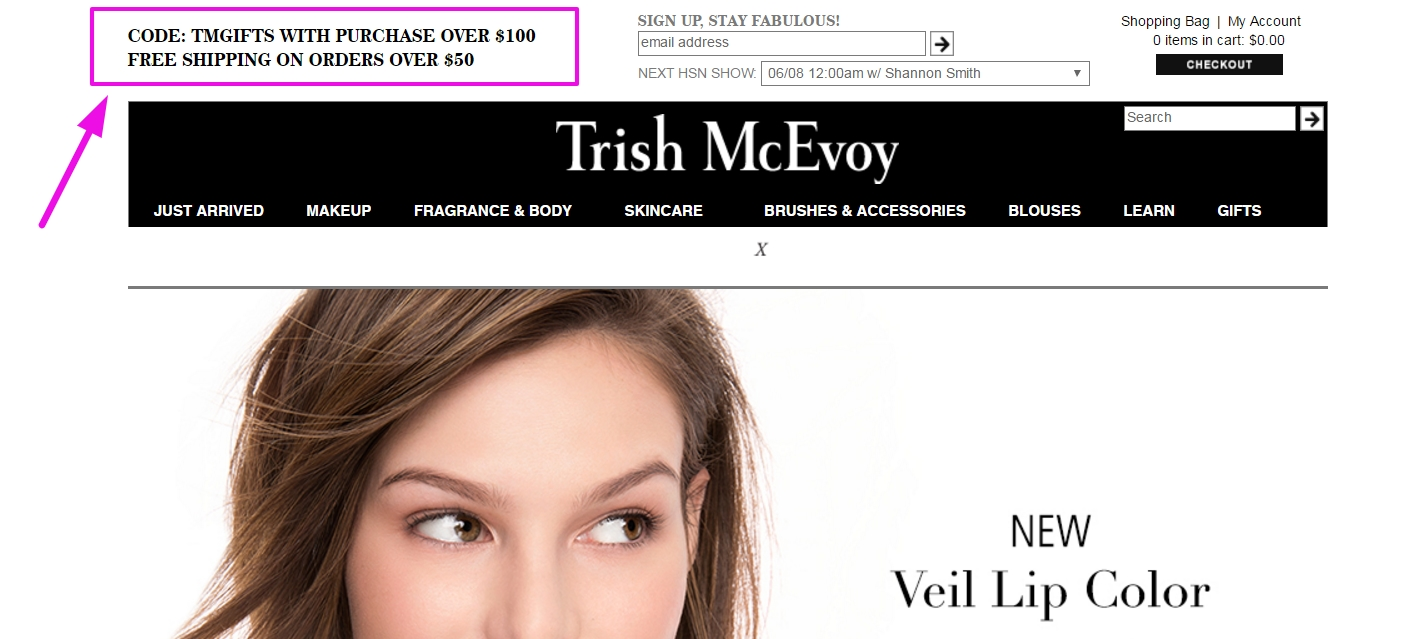 Trish Mcevoy Coupon go to mennopoolbi.gq Total 12 active mennopoolbi.gq Promotion Codes & Deals are listed and the latest one is updated on November 26, ; 9 coupons and 3 deals which offer up to 20% Off and extra discount, make sure to use one of them when you're shopping for mennopoolbi.gq; Dealscove promise you'll get the best.