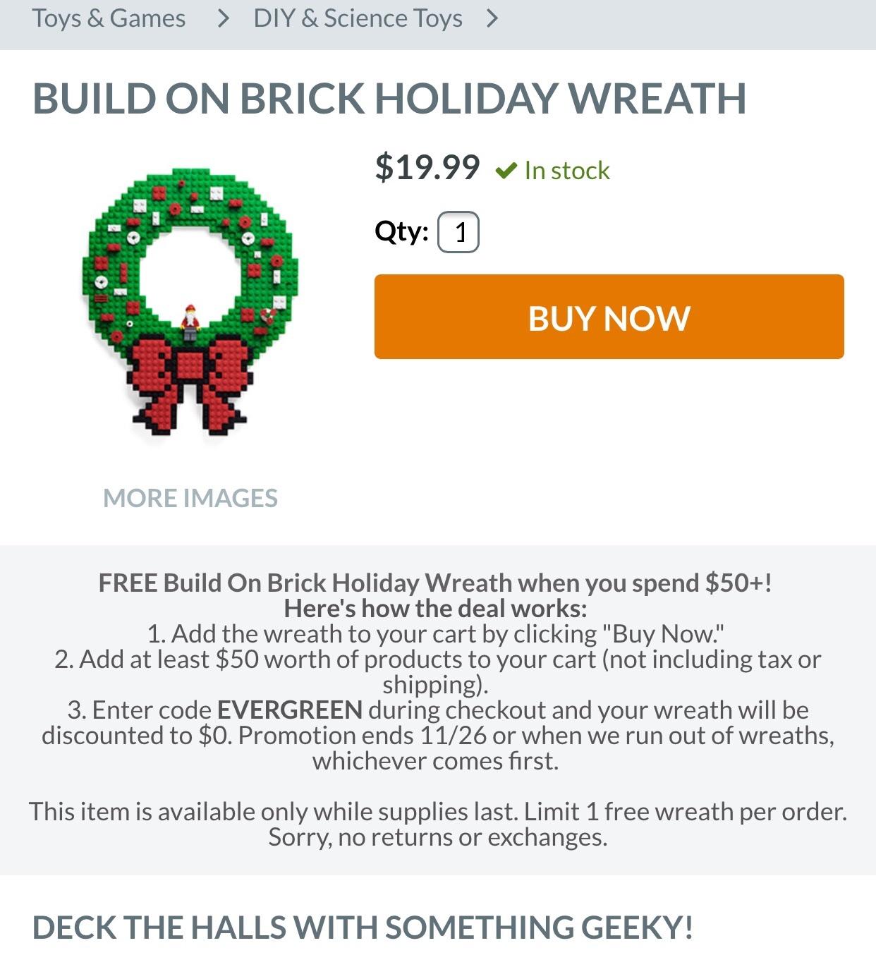 Bricks coupons