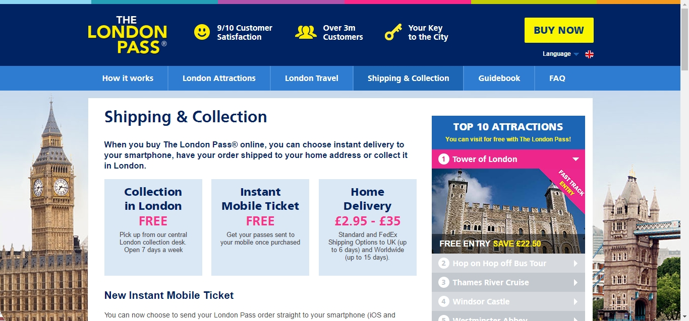 London coupons discounts