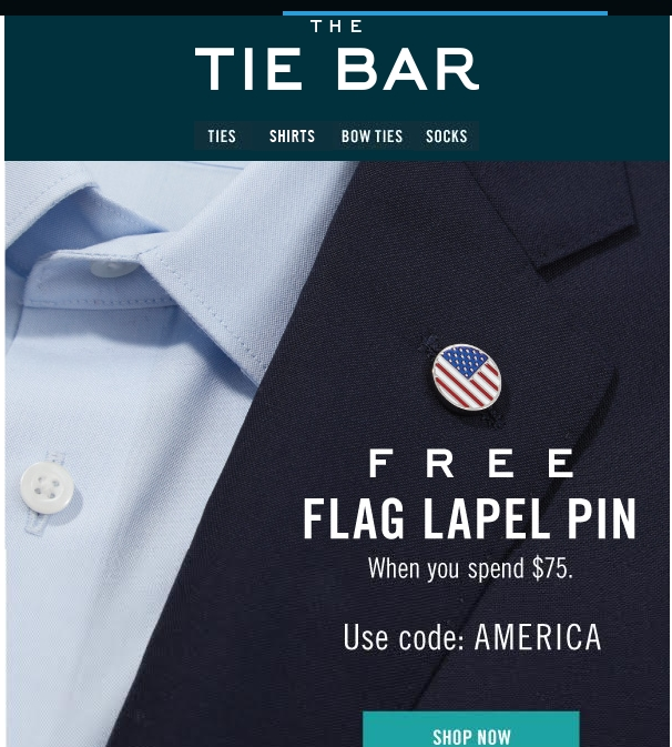 With ranges endorsed by actors such as Bradley Cooper and Jessy Tyler Ferguson, The Tie Bar is the leading source for elegant ties that complete the look. Their range includes skinny ties, neck ties, bow ties, and more, with all of the latest seasonal trends in stock, along with accessories such as socks and tie bars.