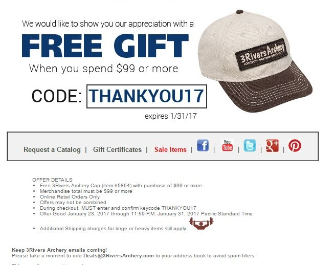 image about Llbean Printable Coupon titled 3rivers archery coupon code : Privileged grocery discount codes printable