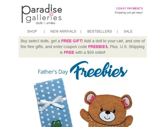 Paradise galleries coupon code