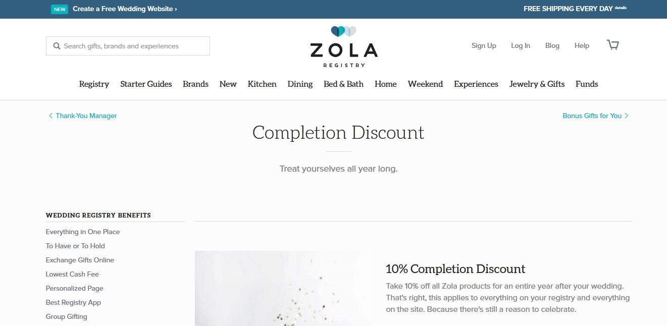 Zola coupon code 10 off