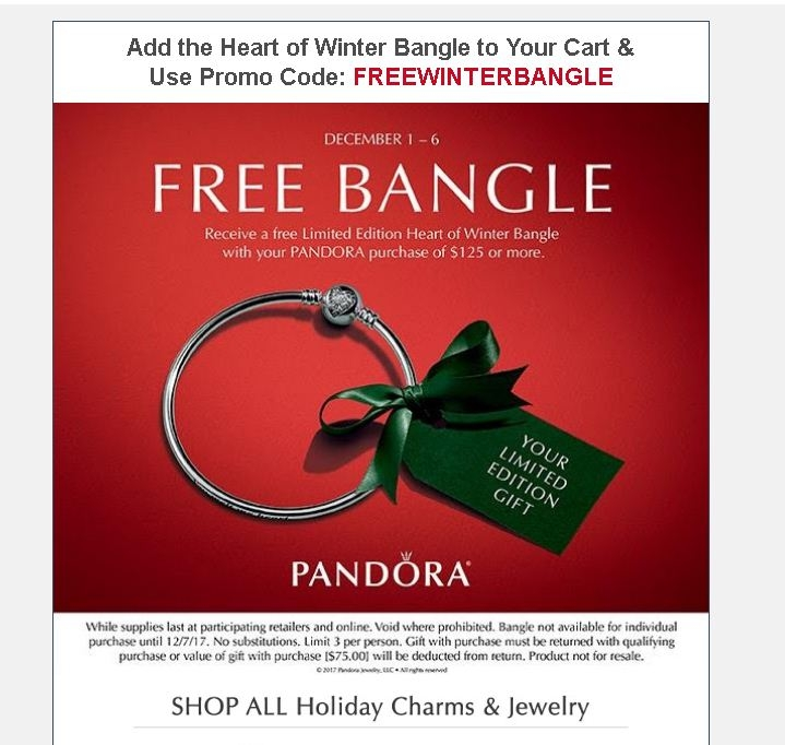 Pandora Jewelry Coupons Printable: 75% Off Pandora Jewelry Coupon Code