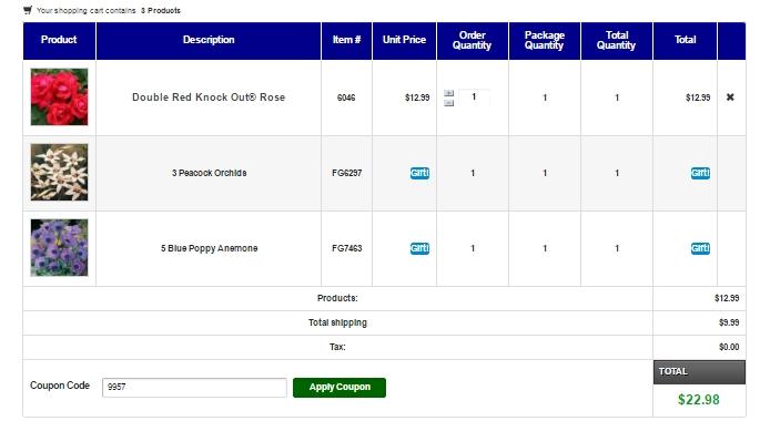 Direct gardening coupon codes free shipping