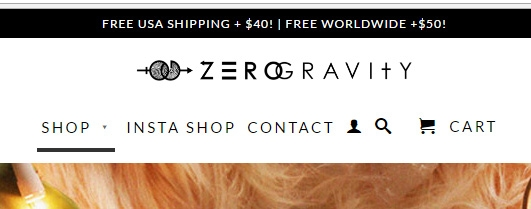 Zero gravity coupon code