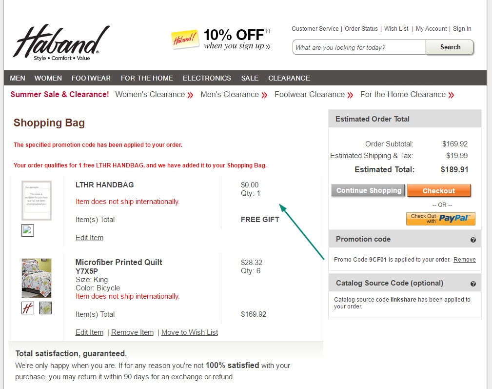 Haband coupon codes