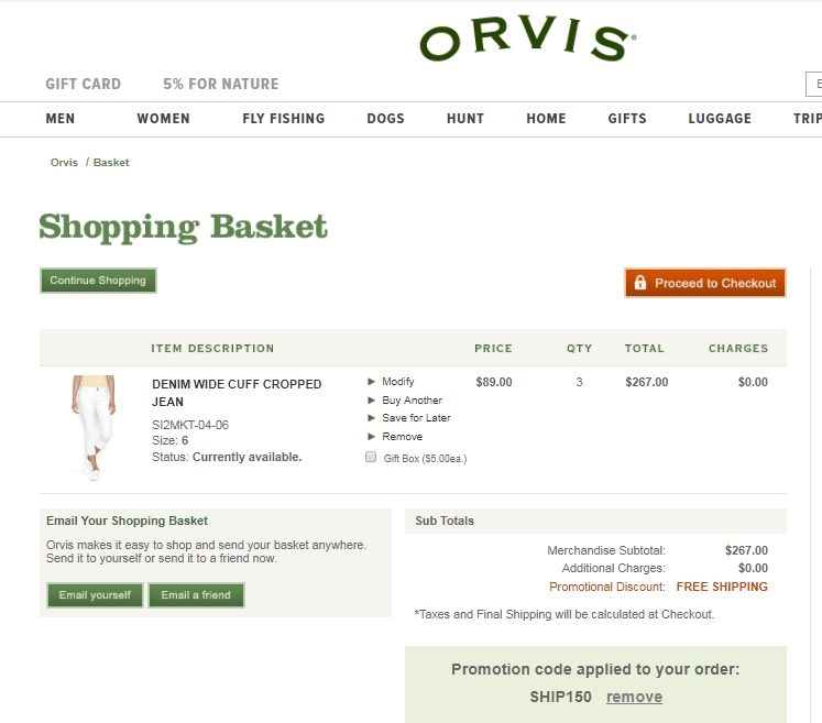 Orvis coupon code free shipping 2018