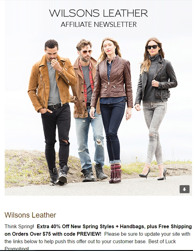 Mr s leather discount coupon