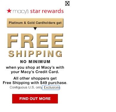 Macy S Credit Card Furniture
