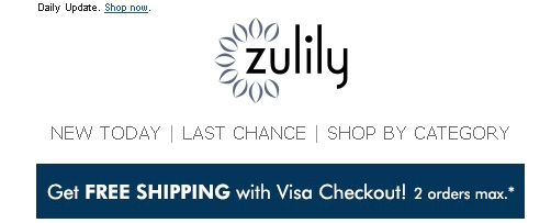 With these Zulily Coupon codes it's easy to get free shipping and other deals online. imsese.cf is the place to find the latest coupons.