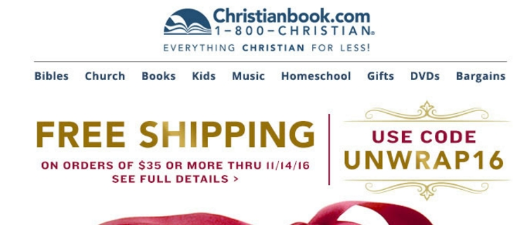 Save up to 95% with these current Christianbook coupons for December The latest unecdown-5l5.ga coupon codes at CouponFollow.