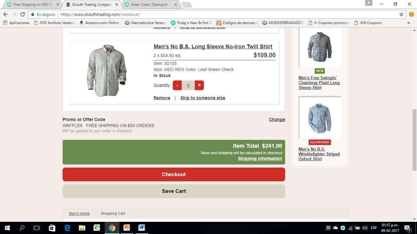 Duluth Trading Company Coupon and Discount Hacks. Check out the offerings in the Sale section. The selection is extensive, and many items can be found for anywhere between 25% and 50% off.
