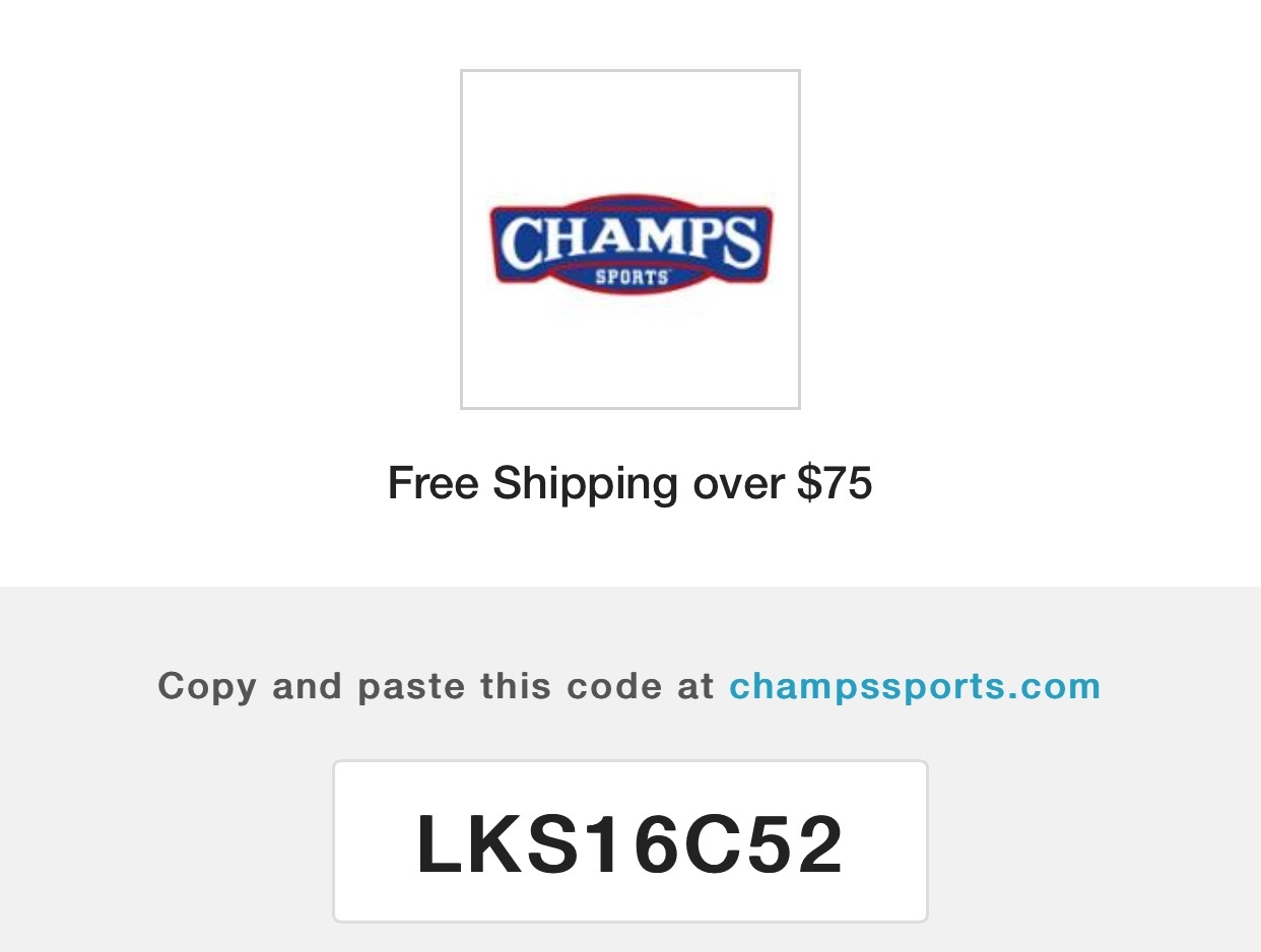 Champs sports coupons 30 off