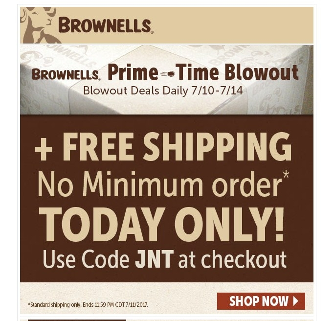 Brownells coupon code