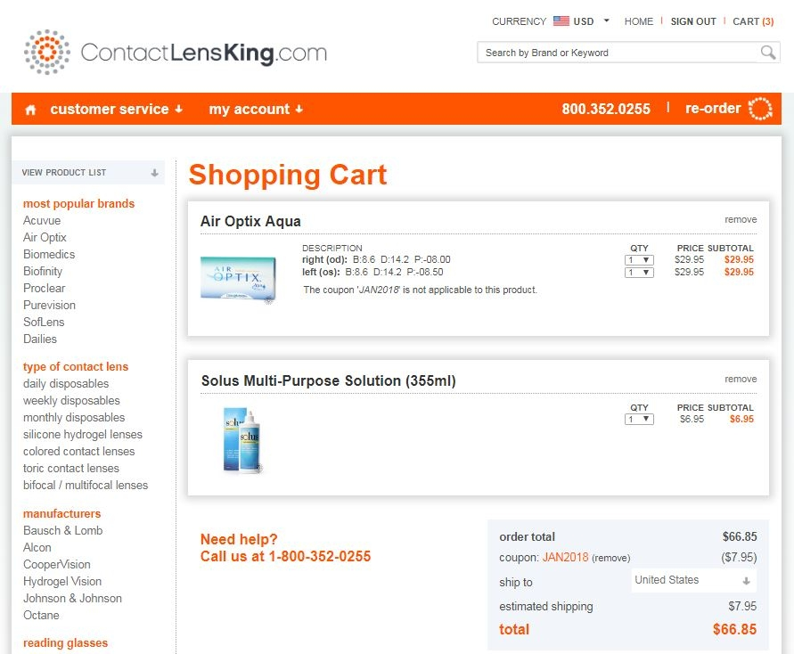 Contact lens king coupon code june 2018