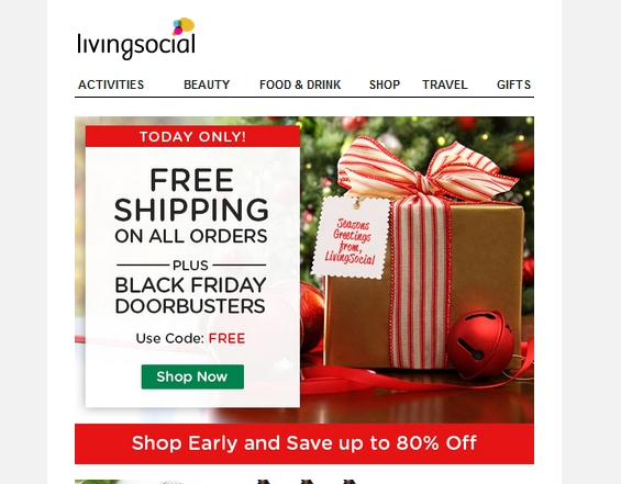 Living Social Free Shipping Policy Shipping prices vary on tusagrano.ml Vouchers are generally printed, so no shipping is necessary. Some shipped items come with FREE shipping, while others are shipped for a nominal fee.