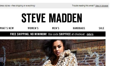 Steve madden coupons october 2019