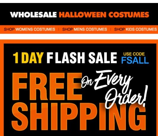 save with wholesale halloween costumes coupons promotion code free shipping codes for november 2017latest wholesalehalloweencostumescom coupon