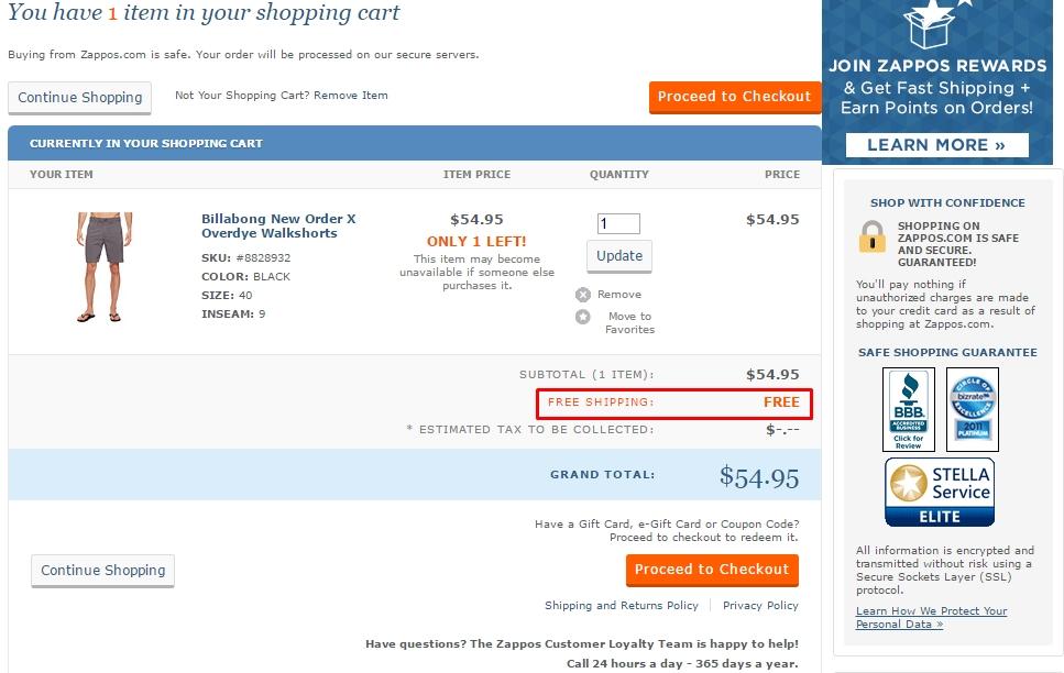Zappos $20 off coupon code