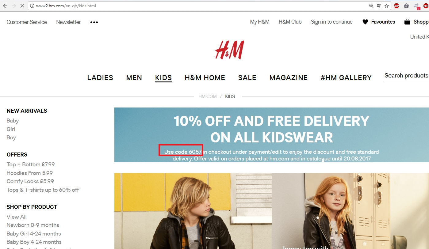 How to use a H&M coupon Find great value at H&M on their value priced clothes for men, women and children.H&M offers the latest trends in clothing and their selection of outerwear, jeans and shirts makes H&M online a great multiformo.tk online for great deals including an H&M coupon for 20% off a single item%().