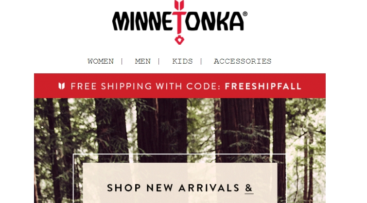 Minnetonka coupon code
