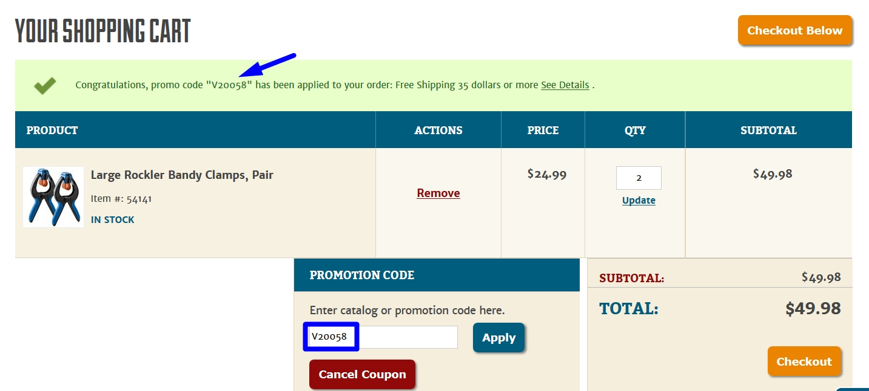 Rockler coupon code