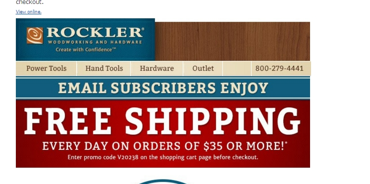 Rockler is a retailer of woodwork products and services. The company also specializes in producing hardware tools and equipment. Rockler has taken great initiative to promote women in the woodwork profession. Shoppers praise the quality of the woodworks and the helpful customer service.