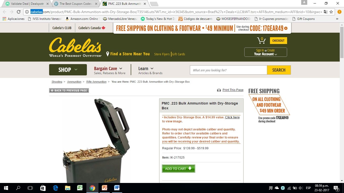 Cabelas in store coupons 2018
