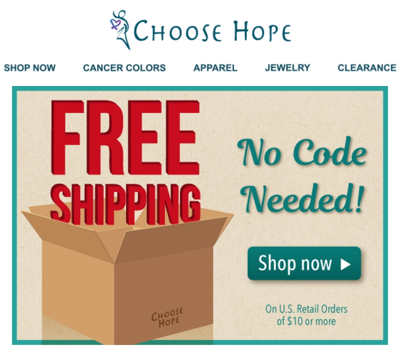 Choose hope coupon codes