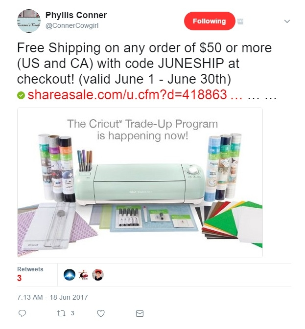 Past Cricut Coupon Codes
