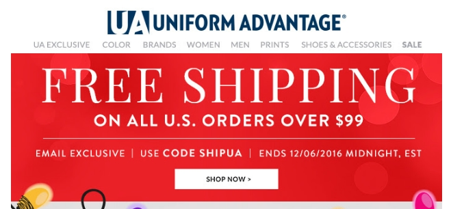 Coupons for Stores Related to uniformadvantage.com