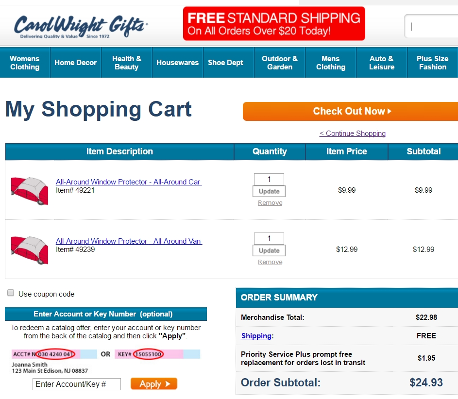 Carol wright coupon codes